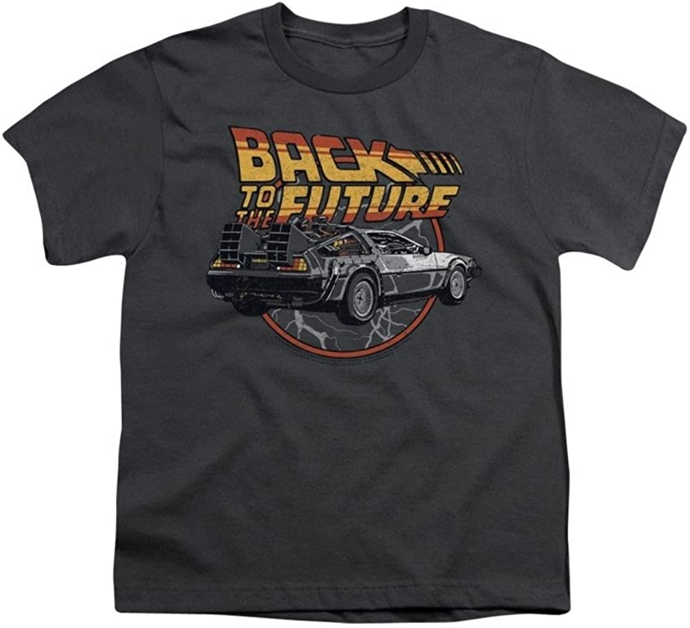 Back To The Future Time Machine Youth T-shirt