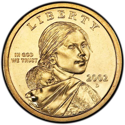 2002 D BU Sacagawea Dollar Choice Uncirculated US Mint