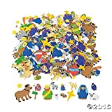 Fabulous Foam Self-Adhesive Nativity Shapes - Art & Craft Supplies & Foam Shapes