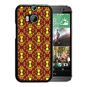 Neon Autumn Durable High Quality HTC ONE M8 Phone Case