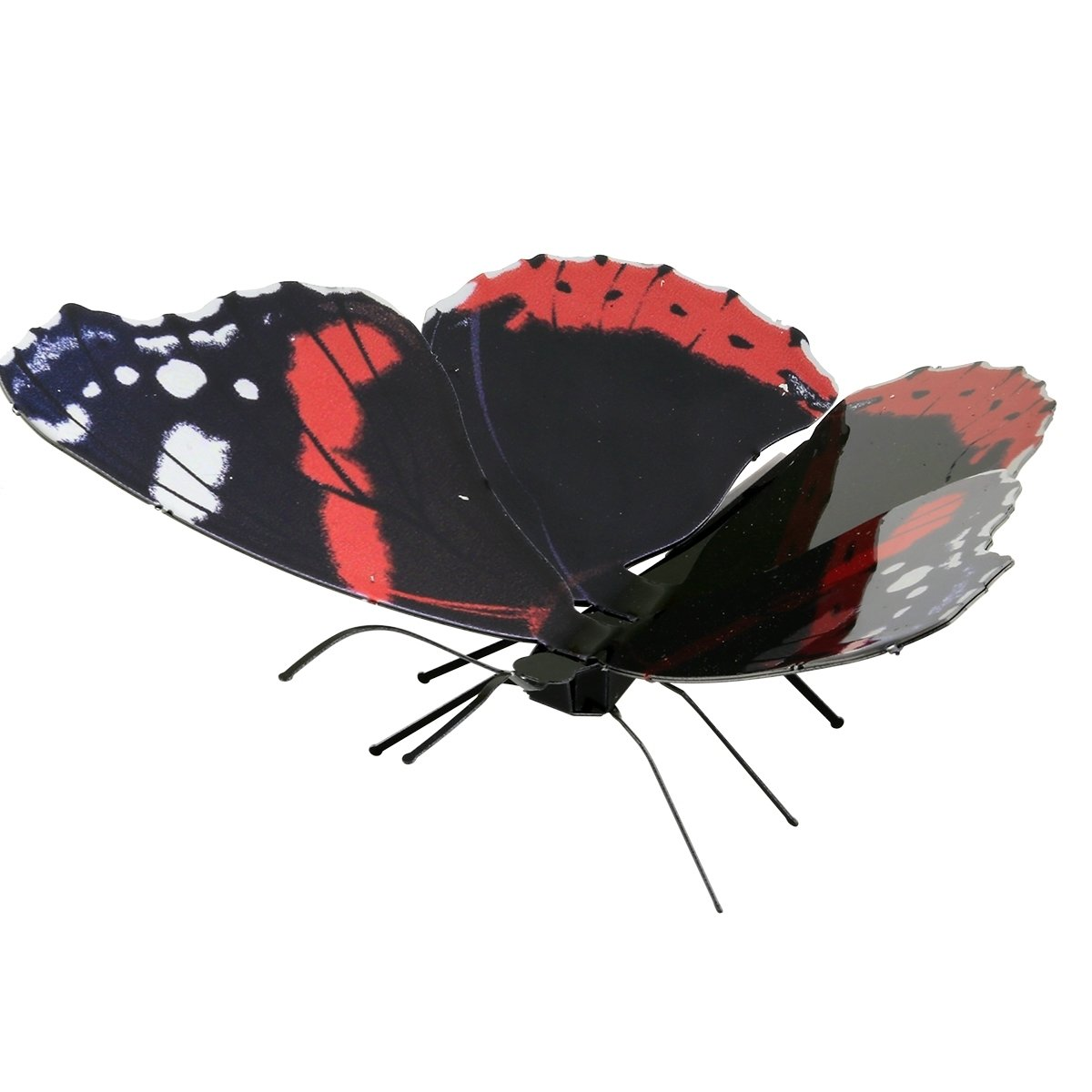 Fascinations Metal Earth Red Admiral Butterfly 3D Metal Model Kit SG/_B06Y2K2GX1/_US