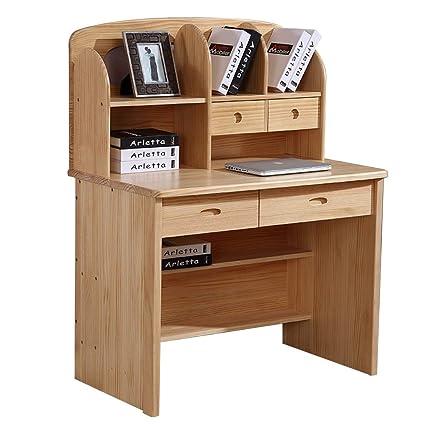 Amazon.com: Desks Chairs Children\'s Study Table Solid Wood ...