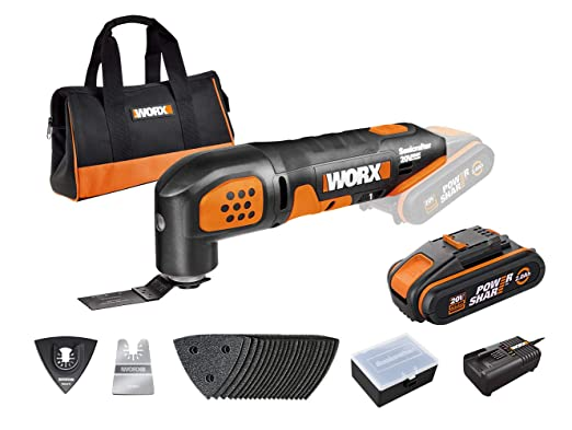 Worx WX682 - Batería de 20 V para máquina de sonicrafter (2 ...