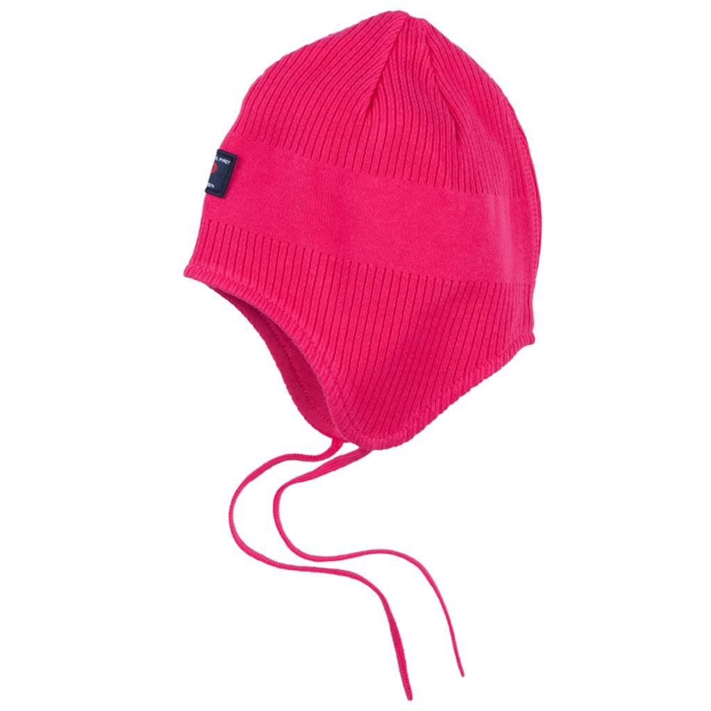 Pyret Ribbed Helmet Cap Baby Polarn O