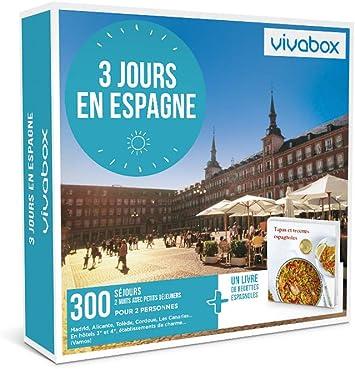 vivabox – regalo – 3 días en España – incluye 300 actividades diferentes + un libro de recetas. Coffret De Actividades Valable 3 años a partir de la fecha de compra.: Amazon.es: Salud y cuidado personal