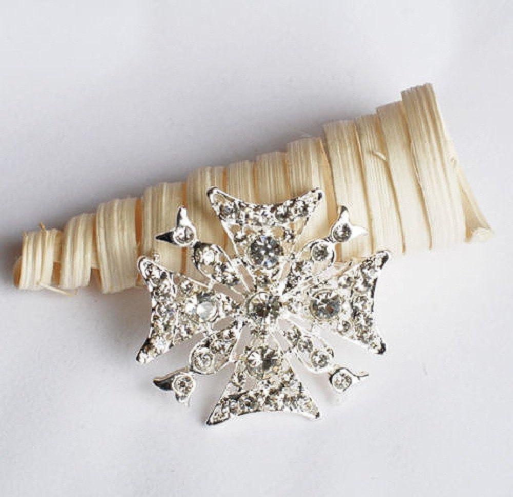 nugroho/_cak Details about Rhinestone Crystal Brooch Jewelry Pin Wedding Invitation Cake Decoration