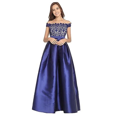 FRLYQ hjhy® Vestidos de bordar, primavera y verano salón anual vestido de noche de