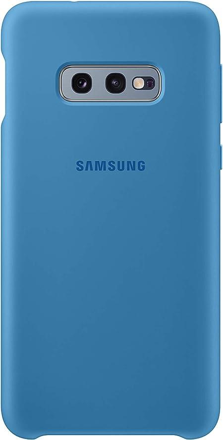 Silicone Cover Für Galaxy S10e Blau Elektronik