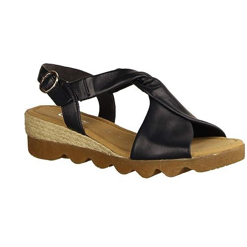 Gabor Damen Sandaletten Genua G 22.751.26 blau 675631
