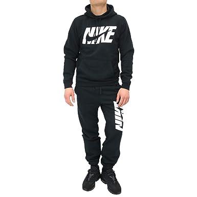 clearance prices timeless design sale Nike Herren M NSW TRK FLC GX Trainingsanzug, Schwarz (Black ...