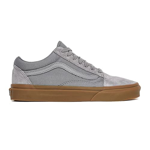 Zapatillas Vans Old Skool Frost Grey Light Gum: Amazon.es: Zapatos y complementos