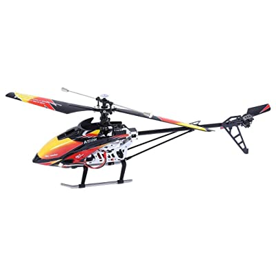 NiGHT LiONS TECH 27.5 inch WL Large V913 2.4G 4CH Single Blade Remote Control RC Helicopter with Gyro RTF: Toys & Games