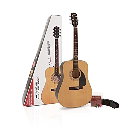 Fender 971110421 FA-115 Dreadnought pack (Natural) Acoustic Steel-String Guitars at amazon