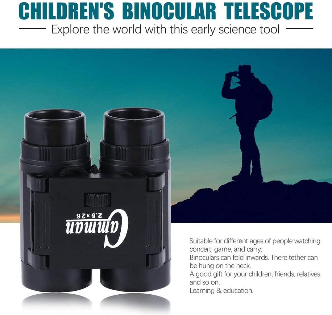 Tie Strap Learning Education Science Discover Toy Swiftswan Children 2.5X 26 Magnification Toy Binoculars