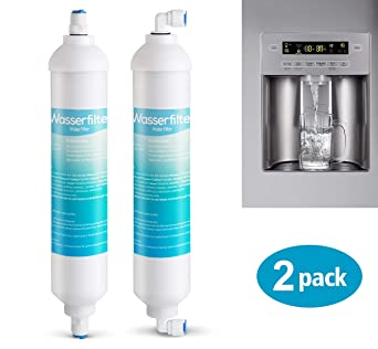2 X Wasserfilter Fur Samsung Lg Aeg Ersatz Externer Kuhlschrank