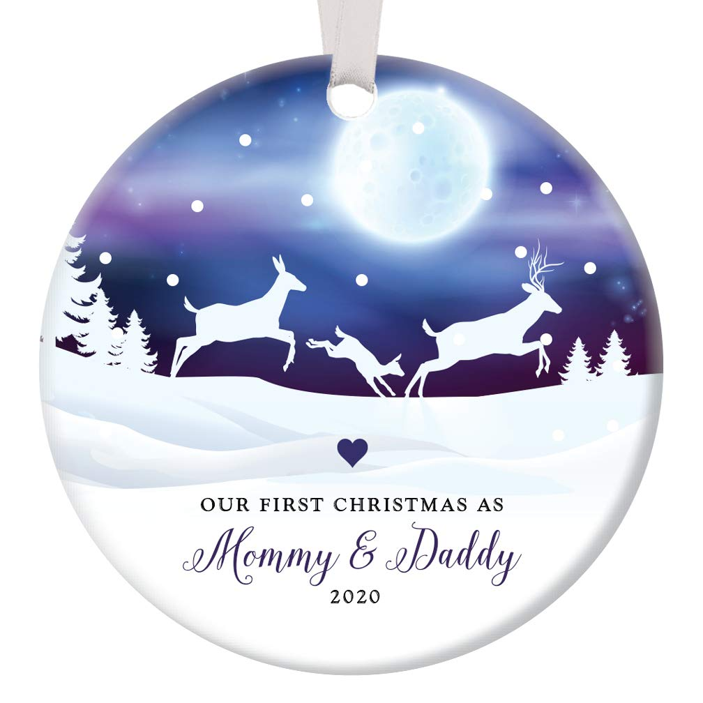 New Parents Christmas Ornament 2020 Amazon.com: First Christmas Mommy & Daddy 2020 Ornament 1st