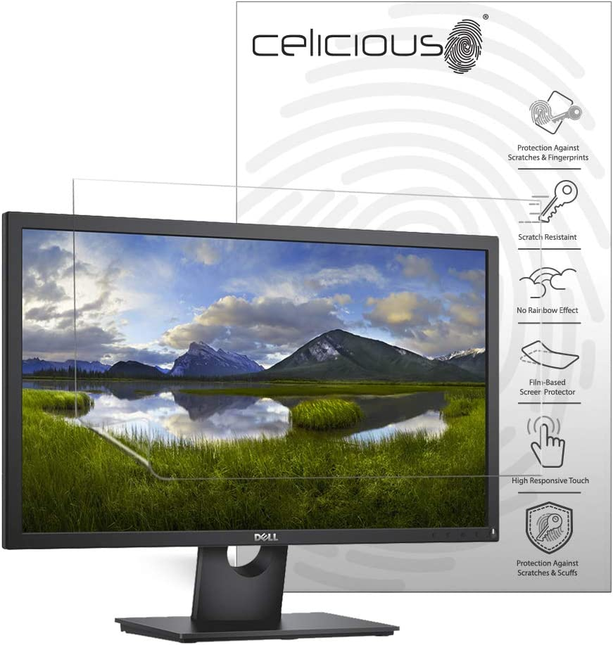 Celicious Matte Anti-Glare Screen Protector Film Compatible with Dell Monitor 24 P2419H Pack of 2