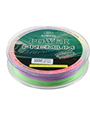 8 Braided Fishing Line SuperPower Strangth 300M/328Yds Abrasion Resistant Braided Lines Incredible Superline Zero Stretch Smaller Diameter