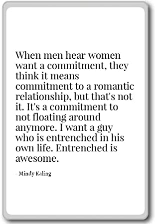 Amazon com: When men hear women want a commitment, they th