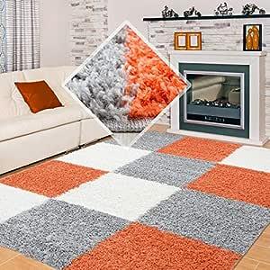 Carpet 1001 Shaggy, Pelo Largo Shaggy Sala de Estar ...