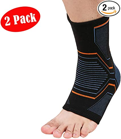 VSPORTS Compression Ankle Brace Sleeve
