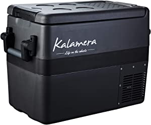 Kalamera Portable Refrigerator Freezer (45 Quart) Car, Camp, Office, Travel Mini Fridge | Electric Drink Cooler for Indoor, Outdoor, Traveling Use | DC and AC Power