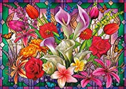 Buffalo Games - Window Lillies - 300 Large Piece Jigsaw Puzzle