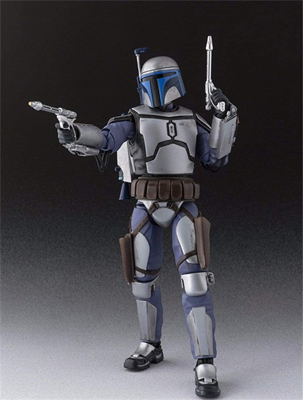 POP Star Wars Super Movable Bounty Hunter Jango Fett Boxed Movable Boxed Handmade, Toy Statue Model Desktop Decoration, PVC Collection Craft Decoration Gift Height About 15CM