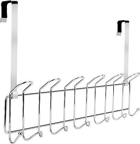 1x Wall Mounted Hooks Coat Towel Clothes Hanger Holder Door Hanging Rack Hook
