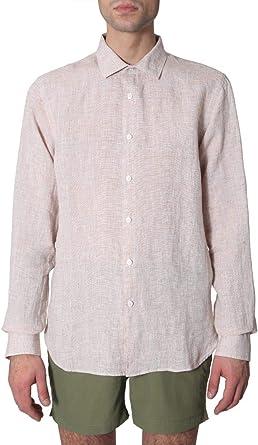 Orlebar Brown Luxury Fashion Hombre OB27021830BIRCHWHITE Beige Camisa | Temporada Outlet: Amazon.es: Ropa y accesorios