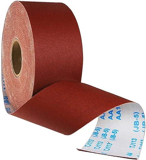 Papier abrasif de polissage de petit pain de tissu d/'émeri de 120 grains