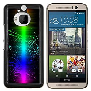 "Be-Star Único Patrón Plástico Duro Fundas Cover Cubre Hard Case Cover Para HTC One M9+ / M9 Plus (Not M9) ( Colorful Wave Color Splash"" )"