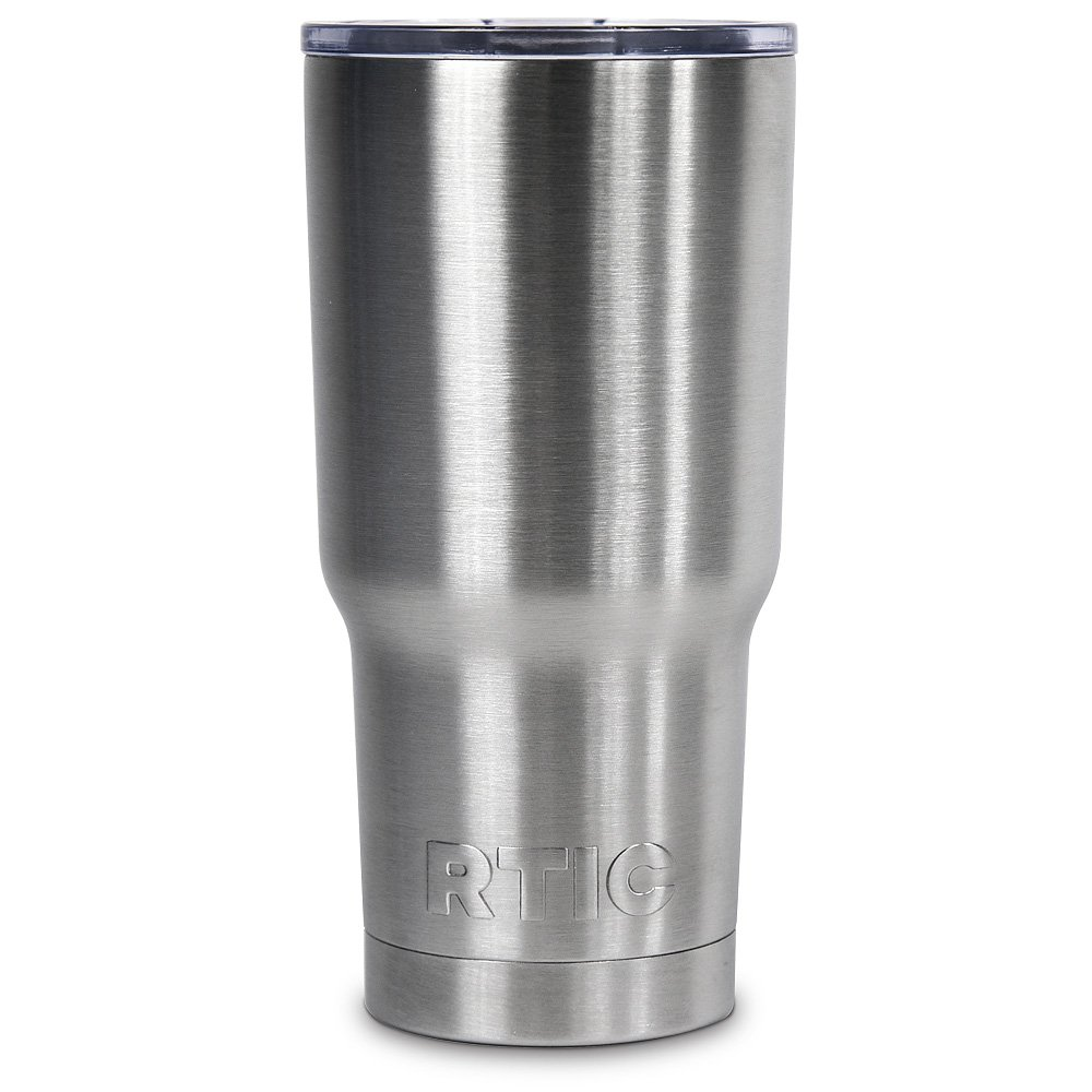 Stainless Steel Insulation : Rtic oz stainless steel tumbler chickadee solutions