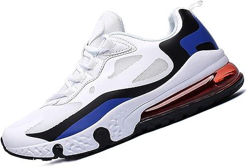 SINOES para Mujer Cuña Cómodos, Zapatillas Sneaker Calzado Deportivo de Exterior de Mujer Plataforma Calzo Aptitud para Ligero Zapatos Blanco Azul 39 EU: Amazon.es: Zapatos y complementos