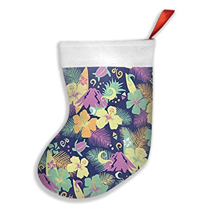 Amazon Com Yitlon8 Hawaii Turtle Tree Plants Christmas Stockings