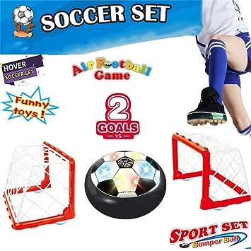 Balón eléctrica Air Power Soccer Disco de juego juguetes niños ...