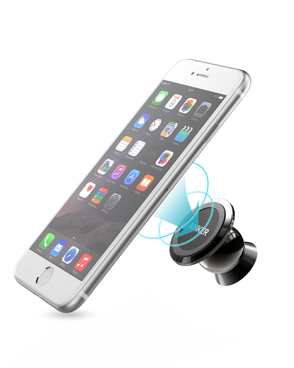 iphone car mount galleon anker universal magnetic car mount ultra 11699