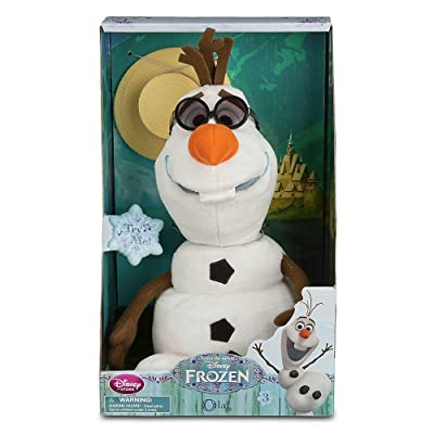 Disney Olaf Singing Plush - Frozen - Medium - 10 1/2'': Toys & Games