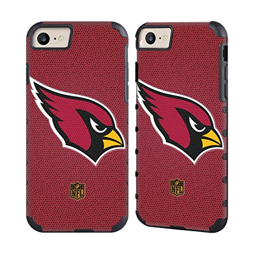 Official NFL Football Arizona Cardinals Logo Gold Gripper Case for Apple iPhone 7 / iPhone ()