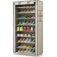 UDEAR Rangement Armoire étagères à Chaussures 10 Couches Meubles à Chaussures avec Housse