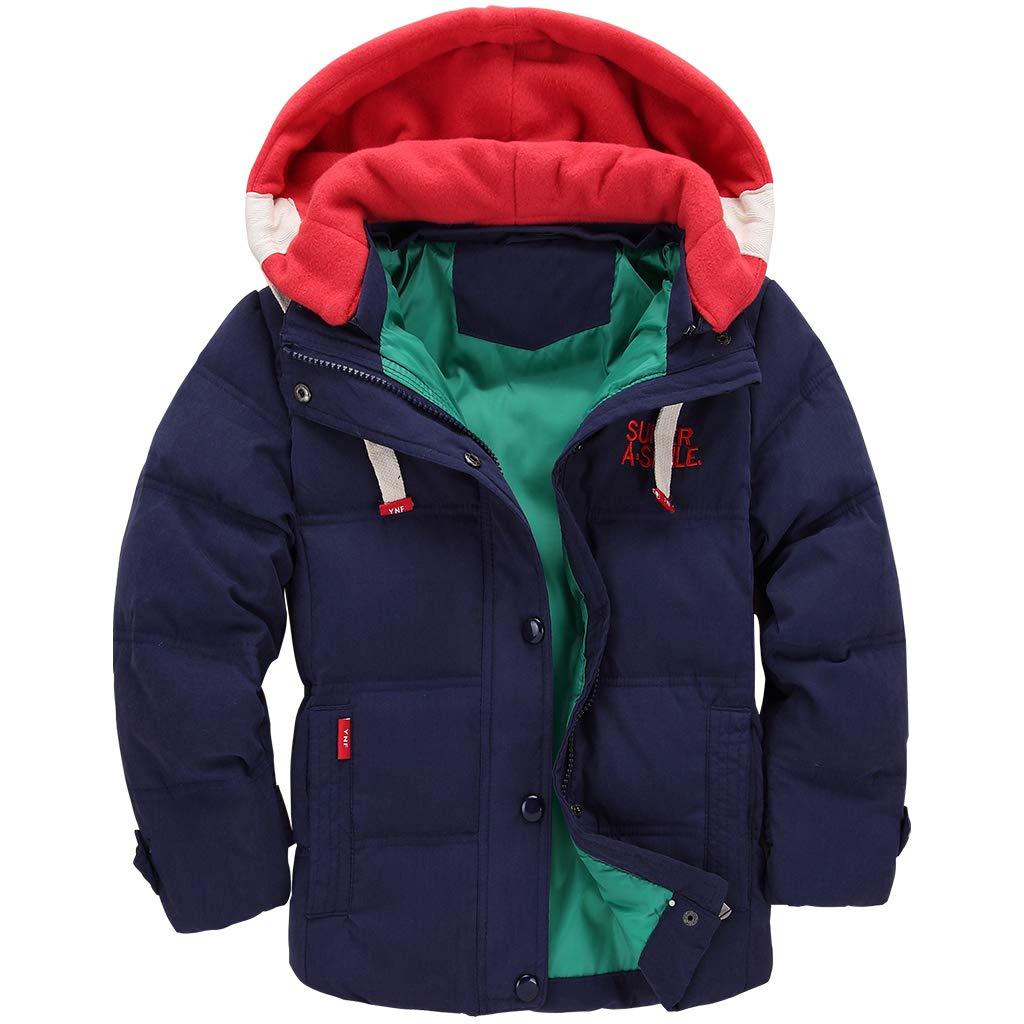 Kids Down Jacket Unisex Winter Hoodie Puffer Coat Thicken Padded Jacket Snowsuit Vine Trading Co. Ltd K180914WT001V