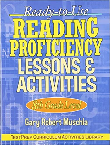Amazoncom Ready To Use Reading Proficiency Lessons Activities