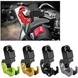 Gancho del Casco de la Motocicleta, Accesorios del Gancho del Almacenamiento del Casco de la Aleación de Aluminio Modificado Motocicleta para Honda(Red)