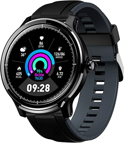 Bluetooth Smartwatch Hombre Mujer Reloj Inteligente Impermeable ...
