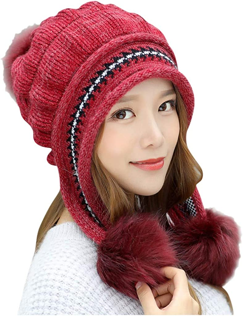 Women Keep Warm Winter Hats...