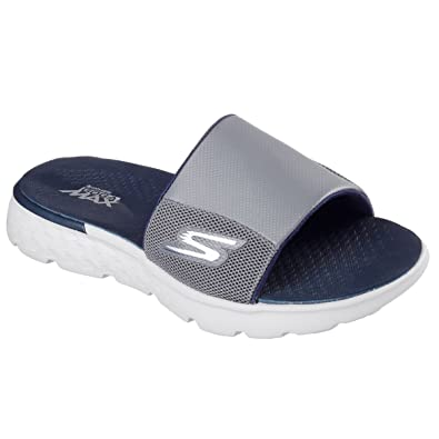 38c3b2039b28 Skechers Mens On The Go 400 - Cooler Sandals - Charcoal Navy - UK ...