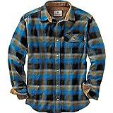 Legendary Whitetails Buck Camp Flannels Cobalt Plaid X-Large
