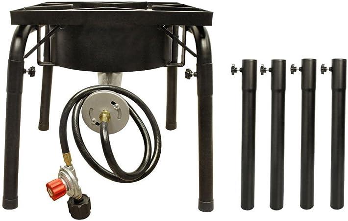 Hornillo de Gas portátil de propano con Patas Extensibles ...