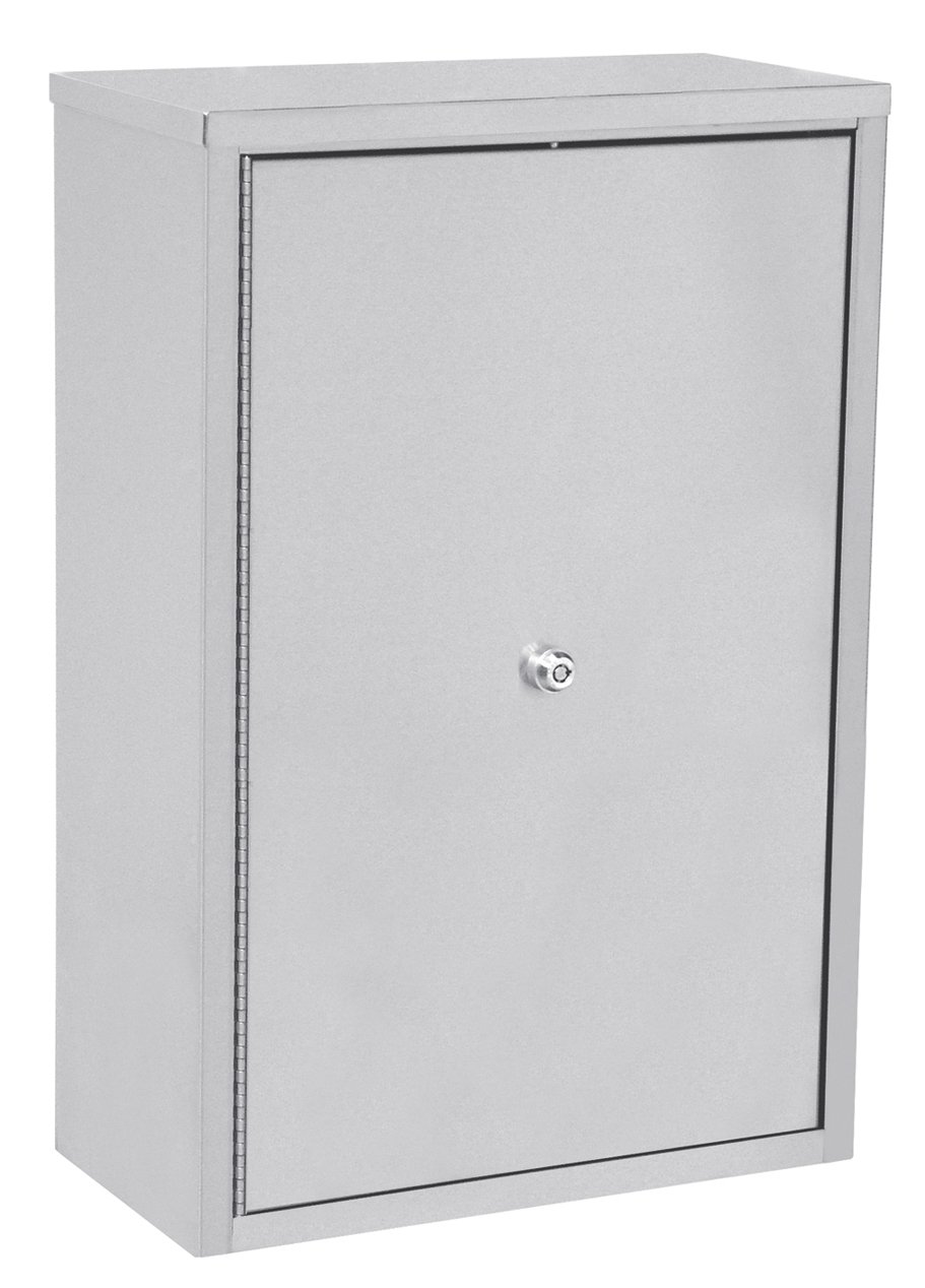 ACS - Narcotic Locking Cabinet 16''W x 8''D x 24''H Stainless Steel 181681