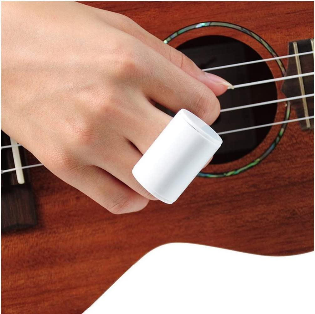 ruiruiNIE Rhythm Sand Shaker Music Finger Ring Finger Shot para Ukelele Accesorios para Guitarra